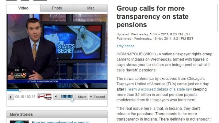 WISH-TV 8 | Group calls for more transparency on state pensions