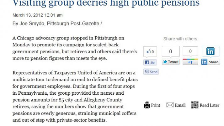 post-gazette.com | Visiting group decries high public pensions