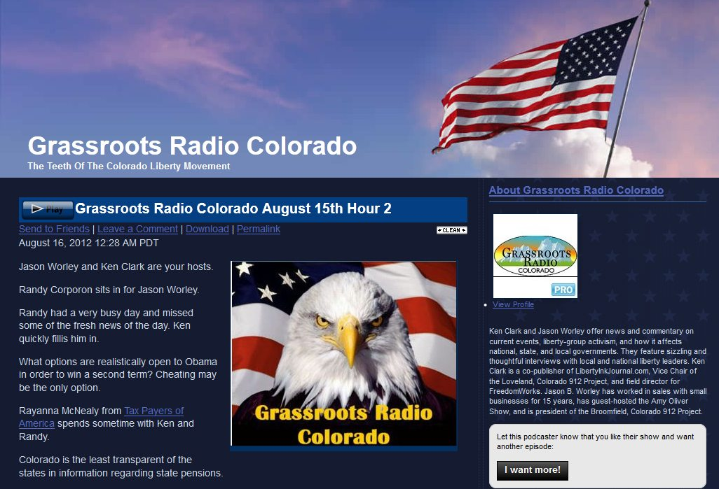 The Source 560 AM  | Grassroots Radio Colorado featuring Rae Ann McNeilly