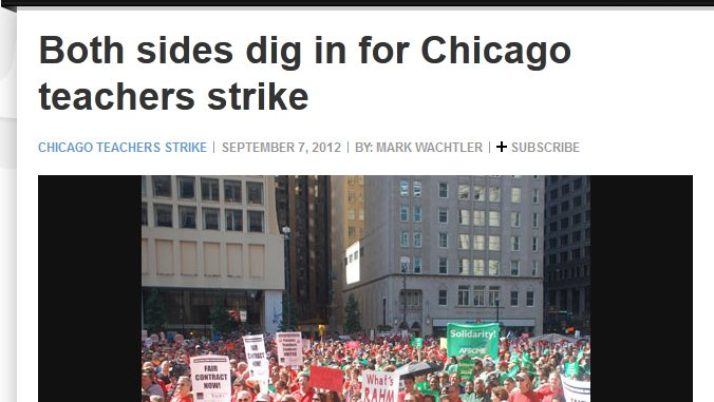 Examiner | Both sides dig in for Chicago teachers strike