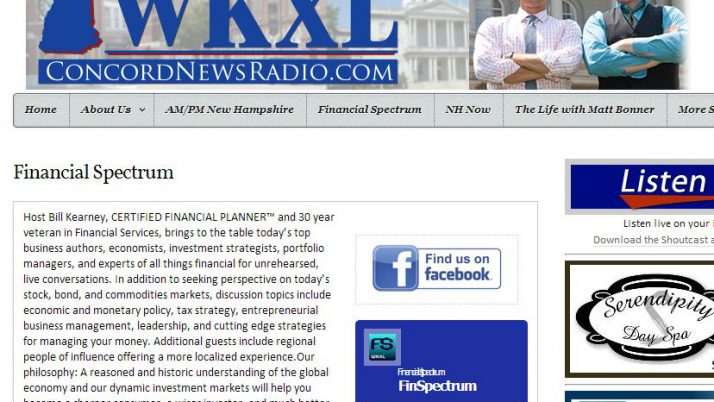 WKXL Concord News Radio | Financial Spectrum featuring Taxpayers United of America
