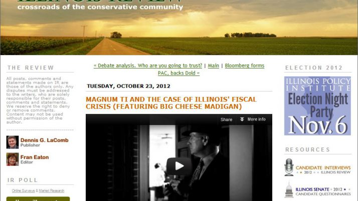 Illinois Review | Magnum TI and the Case of Illinois' Fiscal Crisis (featuring Big Cheese Madigan)