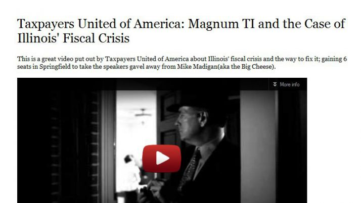 US of Arn | Taxpayers United of America: Magnum TI and the Case of Illinois' Fiscal Crisis