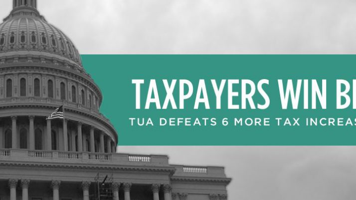 Taxpayers Win Big in April 9 Election!