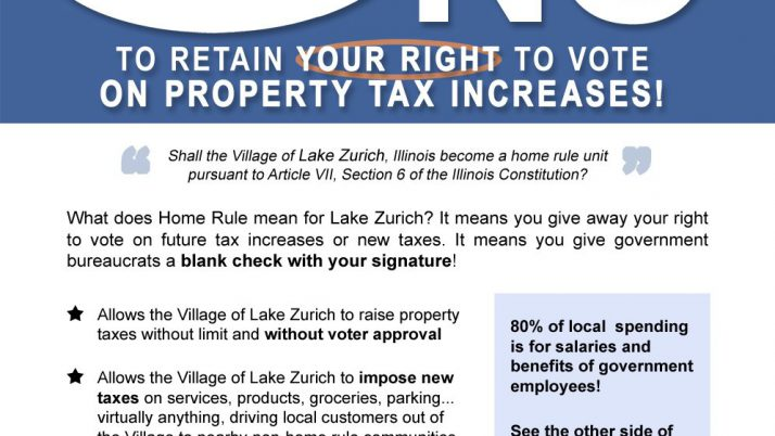 5 Village Governments Want Taxpayers to Throw Away Their Right to Vote on Property Tax Increases
