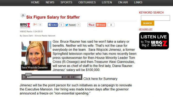 Alton Daily News | Six Figure Salary for Staffer