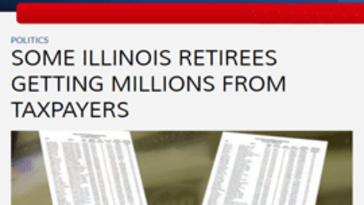 ABC 7 | Some Illinois retirees getting millions from taxpayers