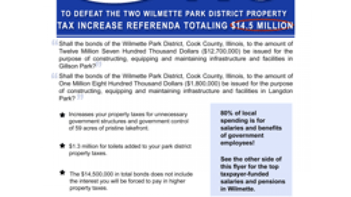 $1.3 Million Toilets for Wilmette Park Empire