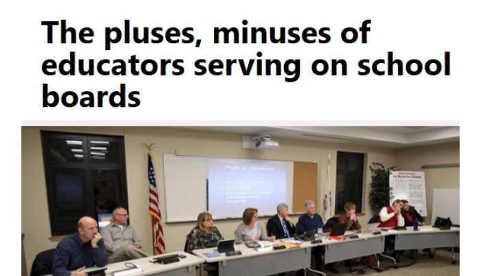 Daily Herald | The pluses, minuses of educators serving on school boards