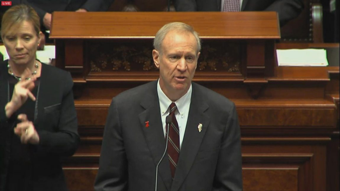 IL Gov. Rauner Strikes at the Root of Evil in Second Budget Address