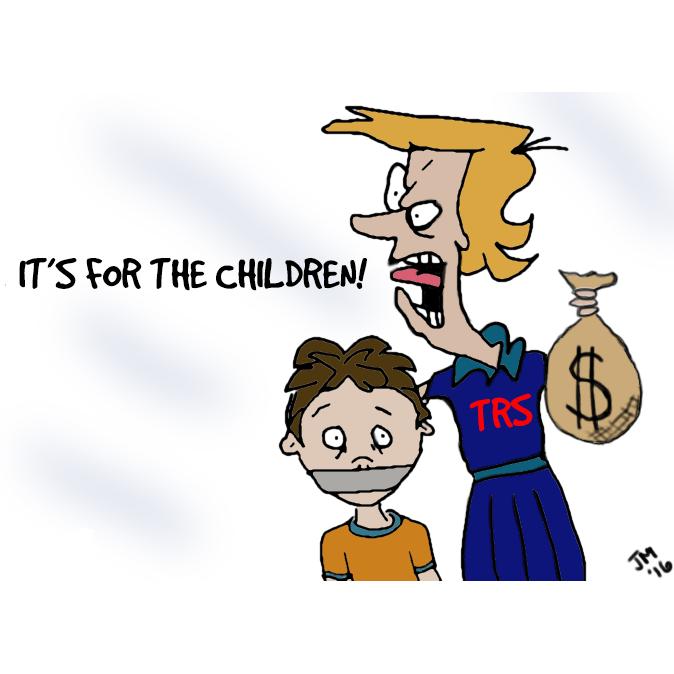 Teachers' Retirement System Millionaires – It's Not For the Children