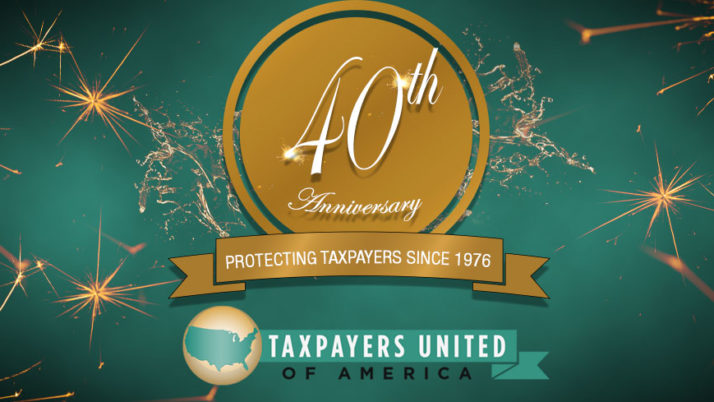 TUA Celebrates 40 Years Protecting Taxpayers