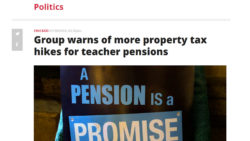 Chicago Sun-Times | Group warns of more property tax hikes for teacher pensions