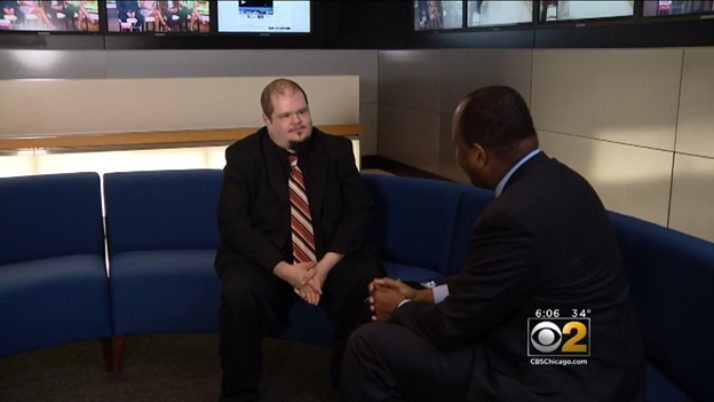 Jared Labell on CBS, discussing Chicago's 2017 tax onslaught