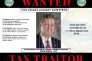 Announcing the latest taxpayer traitor: David Harris