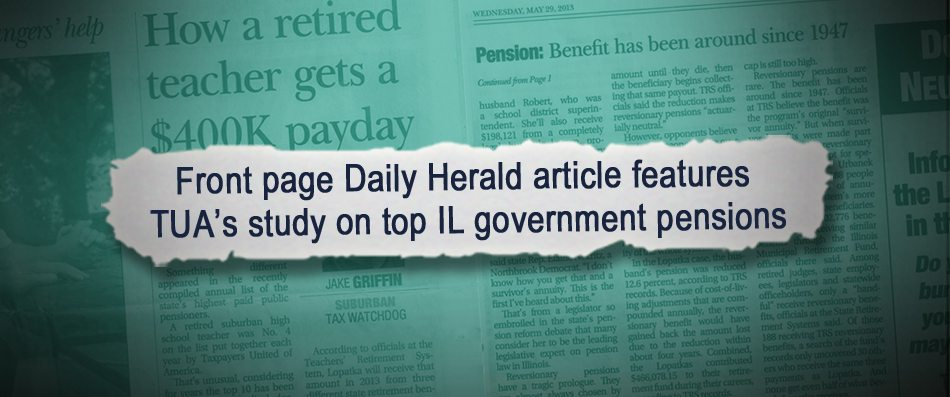 Daily Herald | How a retired teacher's pension adds up to $400,000
