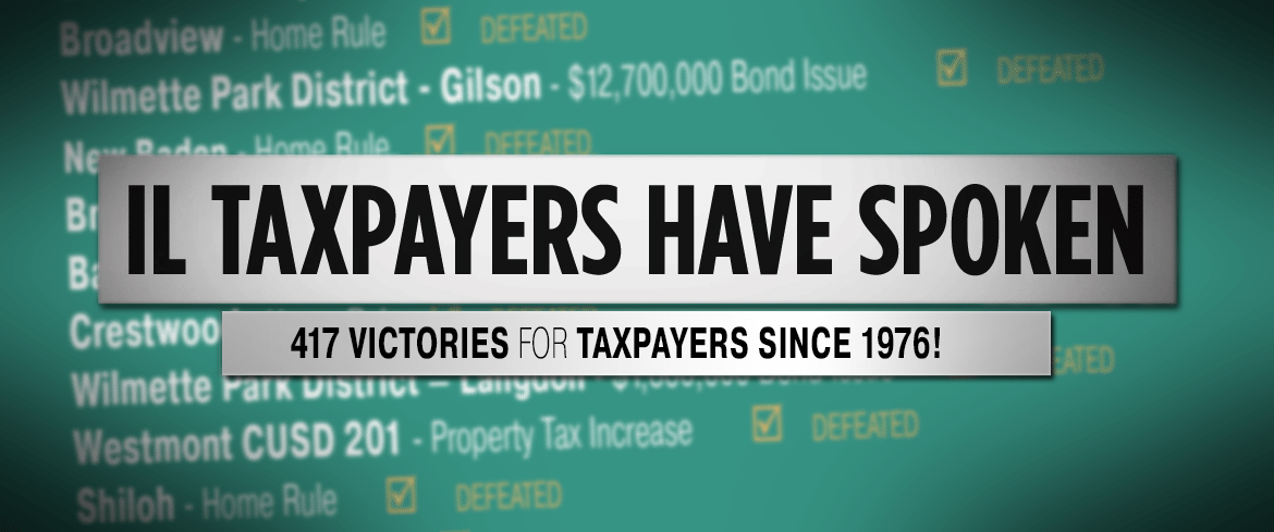 417 Victories: Taxpayers Have Spoken!