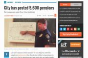 U-T San Diego | City has posted 5,600 pensions