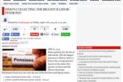 Disclosure News Online   WHO'S COLLECTING THE BIGGEST ILLINOIS PENSIONS?