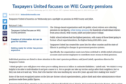 The Herald-News | Taxpayers United focuses on Will County pensions