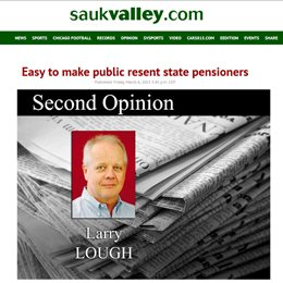 Sauk Valley | Easy to make public resent state pensioners