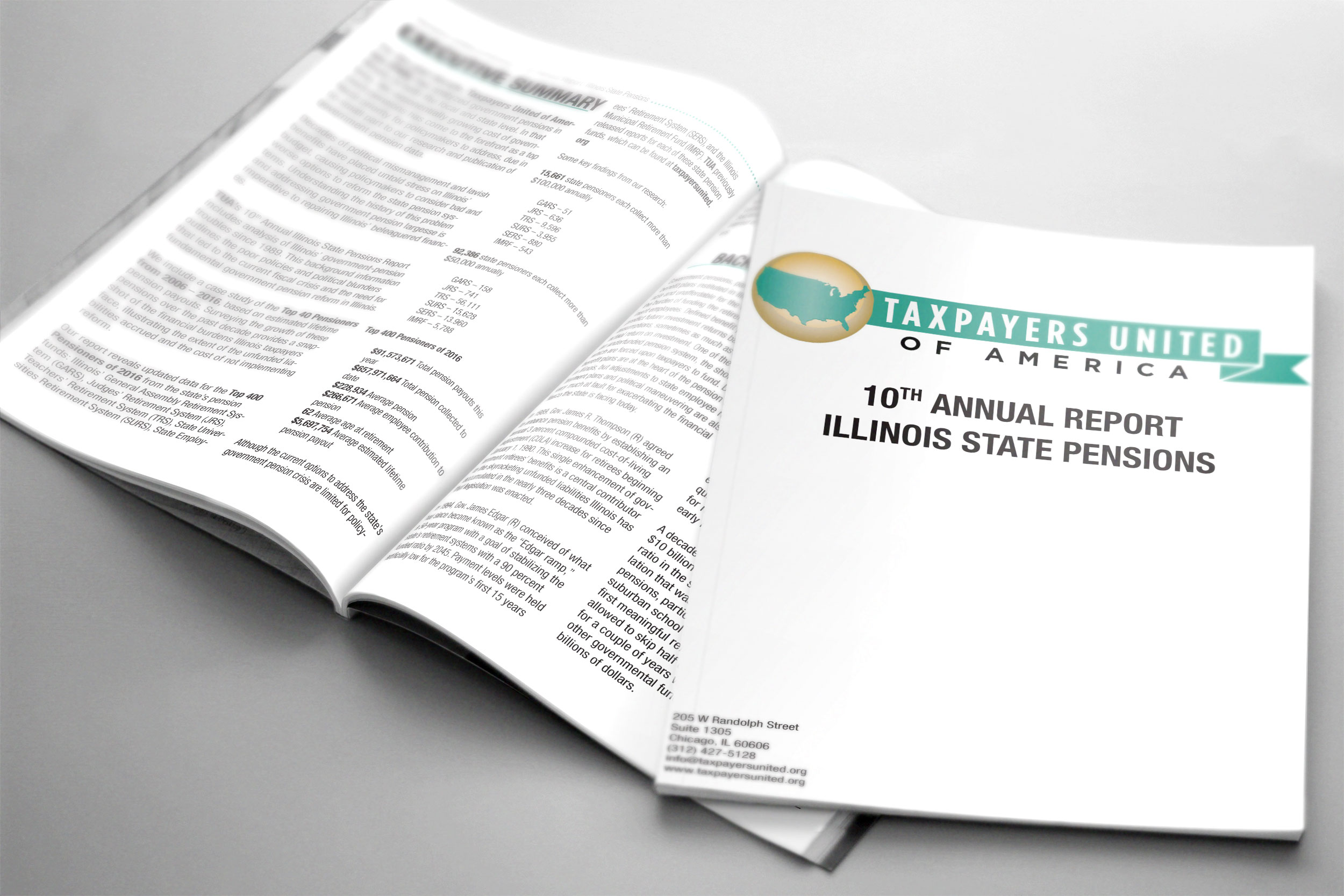 10th Annual Illinois State Pensions Report