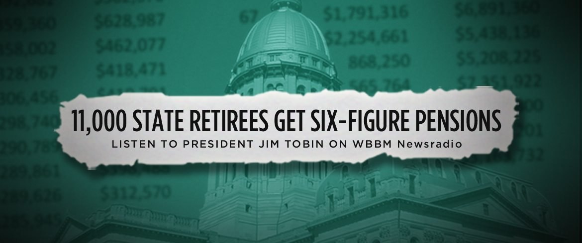 CBS Chicago | Taxpayer Group: 11,000 State Retirees Get Six-Figure Pensions