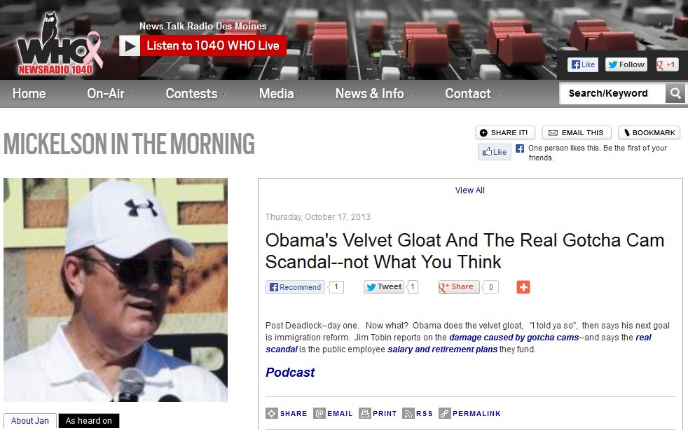 WHO Newsradio 1040 | The Real Gotcha Cam Scandal