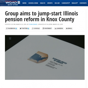 WQAD8 | Group aims to jump-start Illinois pension reform in Knox County